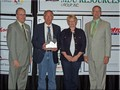Marc Taylor of Northern Plains Equipment was named the Chamber's Small Business Person of the Year for 2012.